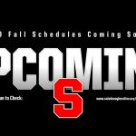 2019 Fall Schedules Coming Soon