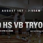 High School Volleyball Tryouts