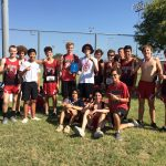 """Boys XC """"Conquer the Hill"""" at Temple Meet"""