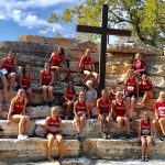 Lady Eagles Compete at Tenroc Meet