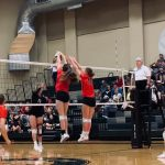 Lady Eagles Volleyball Cruises Past Taylor
