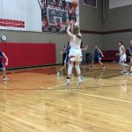 Lady Eagles soar past Lampasas 61-43