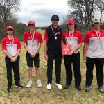 Boys Golf takes victory in home tournament.