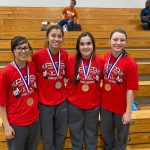 Lady Eagle Power Lifting Competes at Regional