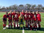 JV Girls Soccer take 1st Place!