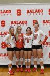 Salado Volleyball Seniors Honored
