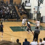 West Salem High School Boys Varsity Basketball beat South Salem High School 59-56
