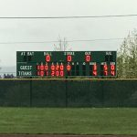 West Salem High School Varsity Baseball falls to South Salem High School 7-4