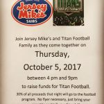 Come support our Titans Click here for details!!
