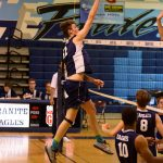 Granite Hills High School Boys Varsity Volleyball beat Steele Canyon High School 3-0