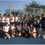 Congratulations Girls Tennis-Grossmont League Champs 2019!!