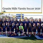 Congratulations Girls Soccer-Grossmont Hills League Champions!!