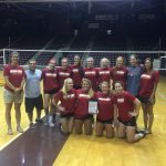 Volleyball Wins at Winthrop's Team Camp