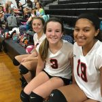Saint Stephens High School Girls Junior Varsity Volleyball beat Hibriten High School 2-0