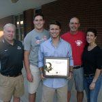Cook Wins WNNC/Coke Award