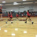 Saint Stephens High School Girls Varsity Volleyball beat Draughn (Endowment Match) 3-0