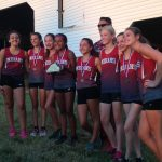 Saint Stephens High School Girls Varsity Cross Country finishes 1st place