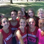 Saint Stephens High School Girls Varsity Cross Country finishes 4th place