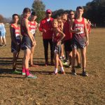Saint Stephens High School Boys Varsity Cross Country finishes 7th place
