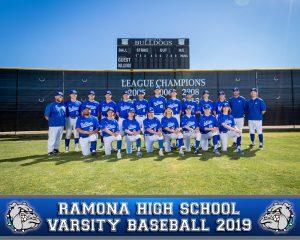 RHS Varsity Baseball 2019