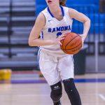 Girls Basketball win League Opener