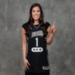 Kelsey Plum #1 Pick in today's WNBA Draft in New York City.