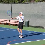 Ramona's Ruland wins League Tennis Singles Title (Voted Player of the Year) !