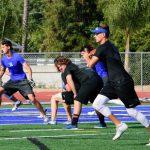 Summer Bulldog Football Action Pics !