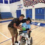 RHS Annual adaptive PE Football Clinic !