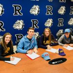 Ramona High has 4 student athletes sign National Letters of Intent!