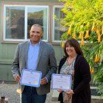 PTA honors two Outstanding Volunteers for RHS !
