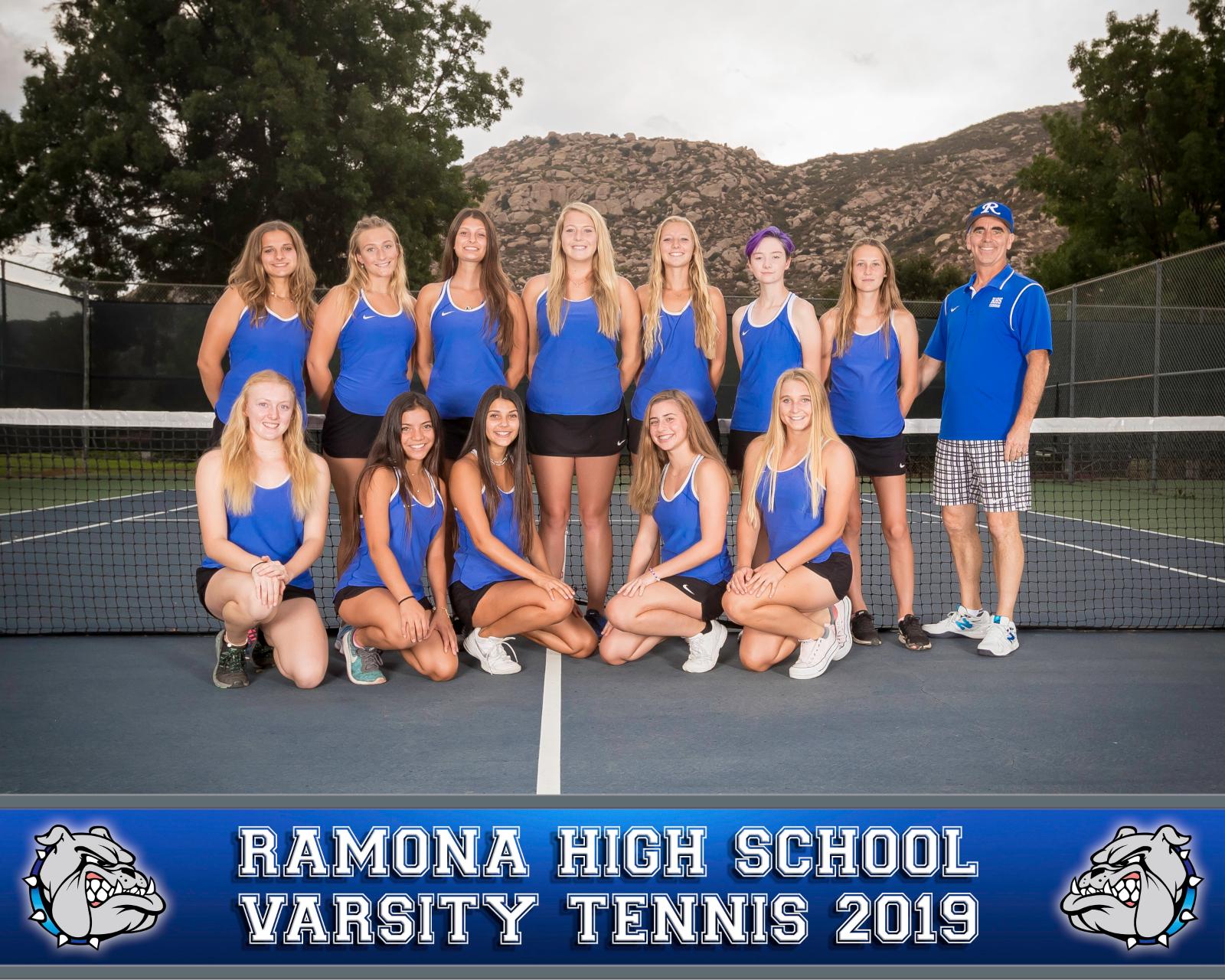 Girls Tennis WINS 2019 Valley League!
