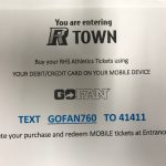 """R Town""  online Athletic Ticket purchasing @ Ramona High"