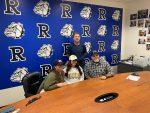 Ramona High's Mackenzie Rutkoff signs Softball Scholarship!