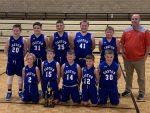 Caston 5th Grade Basketball Wins Pioneer Tourney