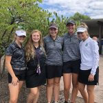 Girls Varsity Golf takes 5th place at the Independence Blue Devil Classic