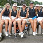 Girls Varsity Golf falls 3 strokes short in Sectionals;  Goyette advances to Districts