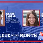 And the North Gateway Tire Co. September Athlete of the Month is….