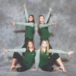 Three Hornet Gymnasts Qualify For the State Tournament!