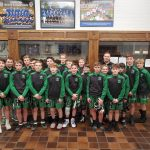 Boys Middle School Wrestling finishes 3rd place at CVCA Duals