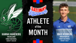 The August North Gateway Tire Co. Athletes of the Month are…