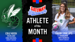 The October North Gateway Tire Co Athletes of the Month are…