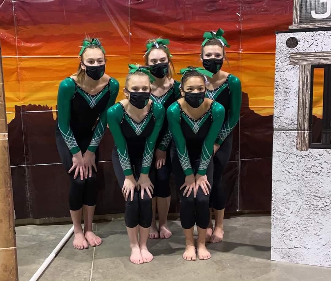 1st Place Win: Stateline Showdown Gymnastics Meet