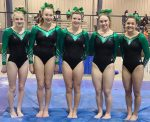 Highland Gymnasts Make School History–Qualify to Districts