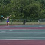 Jaguars Tennis Opens Season at Tough Rocky River Invitational