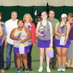 SJA Tennis Hosts Senior Night