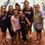 Kelly Sets Two School Records at Viking; Miller Competes at Christmas Diving Invite