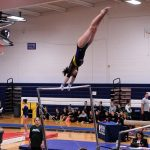 Gymnastics Competes in Sectional Meet; Buckley Advances In Vault