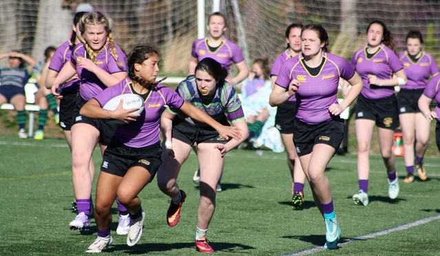 Rugby Opens Season at Carolina Ruggerfest