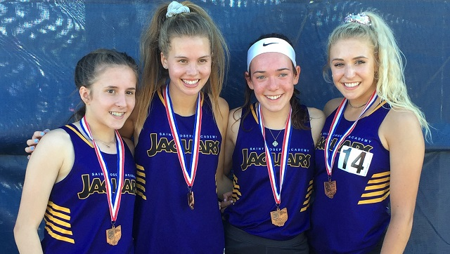 4×800 Relay Team Qualifies For State Meet